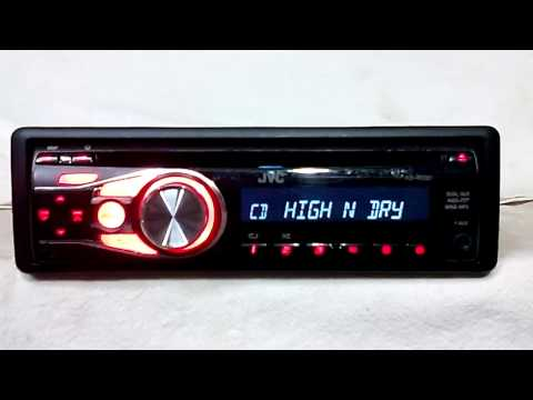 JVC KD R330 AM/FM/CD player car stereo