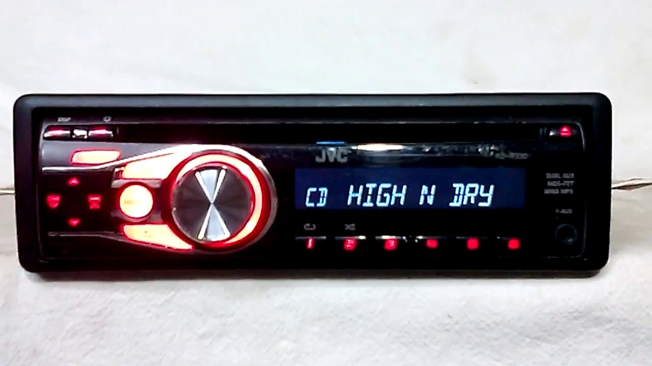 small resolution of jvc kd r330 am fm cd player car stereo