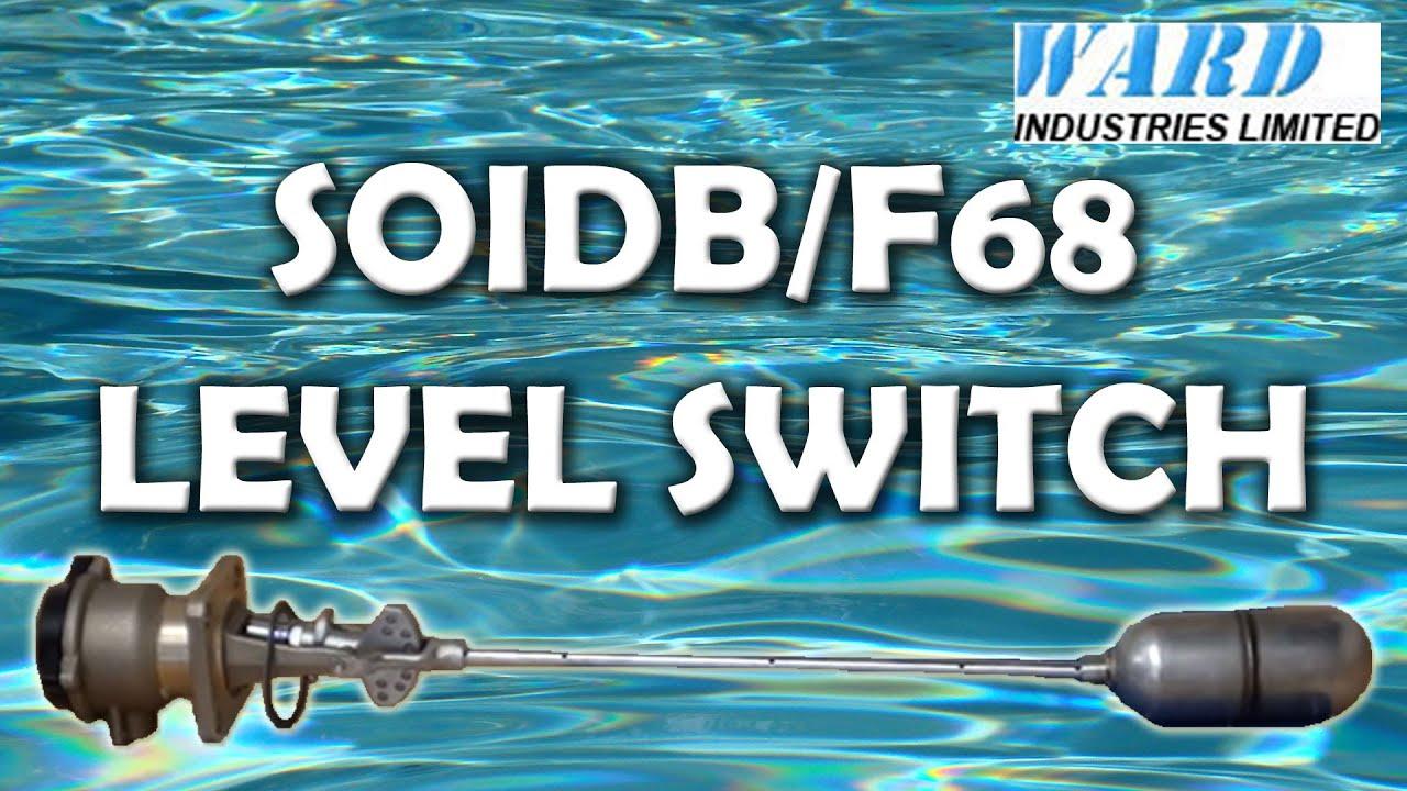 S01DB/F68/4 Magnetic Float Level Switch - Mobrey - YouTube