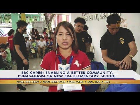 EBC cares: Enabling a better community, isinagawa sa New Era Elementary School