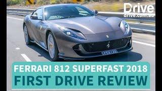 Ferrari 812 Superfast 2018 First Drive Review | Drive.com.au