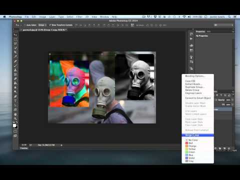 Photoshop CC Tutorial  Layer Groups