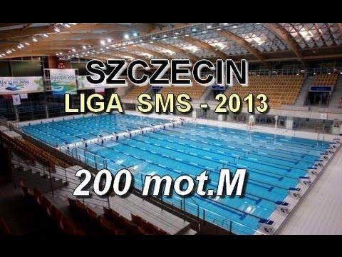 Liga SMS w Pływaniu - Szczecin 2013 - 200mot s1 mężczyzn