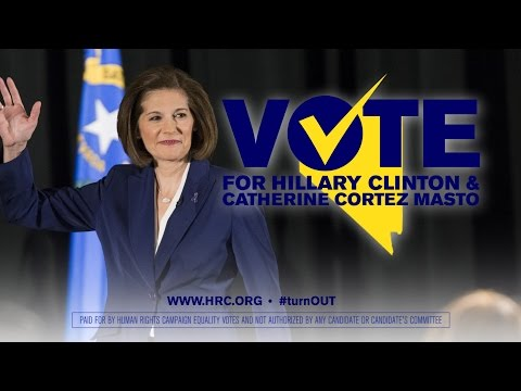 Catherine Cortez Masto and Hillary Clinton for Equality