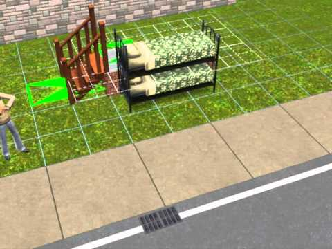 How To Make A Sims 3 Bunk Bed Youtube