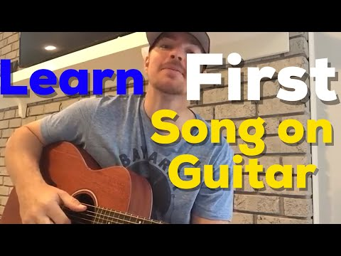 Learn Your First Song on Guitar  Travis Tritt  Im Gonna Be Somebody