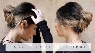 EASY EFFORTLESS UPDO