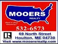 Maine Farm For Sale! Home! 2 Barns! 54 Acres! MOOERS #7601