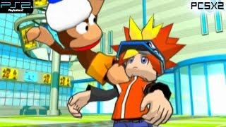 Ape Escape: Pumped and Primed -  PS2 Gameplay SD + FXAA (PCSX2)