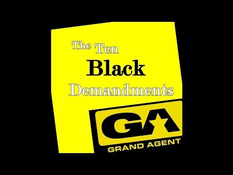 Grand Agent - The Ten Black Demandments (Instrumental)