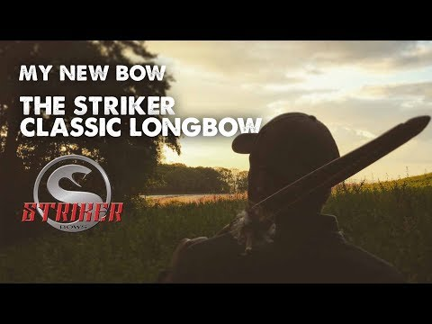 My new bow, The Striker Classic longbow
