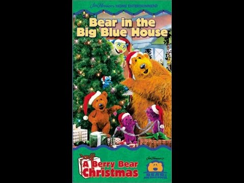 opening to bear in the big blue house a berry bear christmas 2000 vhs avon copy youtube - Bear Inthe Big Blue House A Berry Bear Christmas