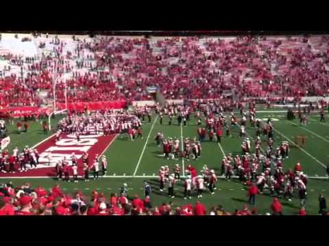 Wisconsin Marching Band 5th Quarter Youtube