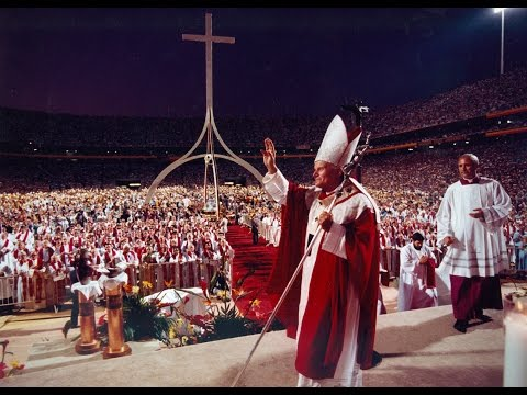 The Pope in Arizona, September 14, 1987