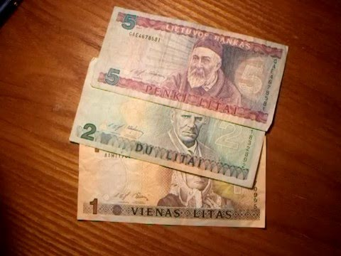 Banknote Overview Lithuania Litas