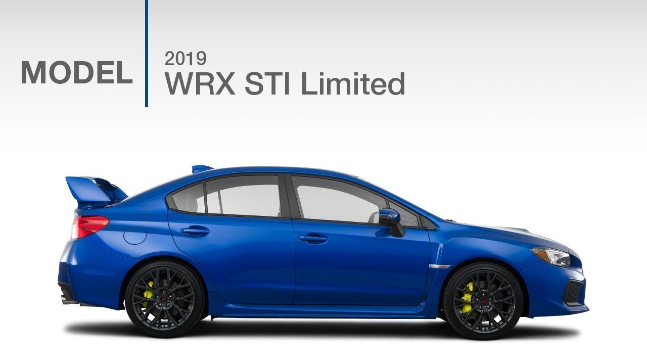 2019 Subaru Wrx Sti Limited Model Review Youtube