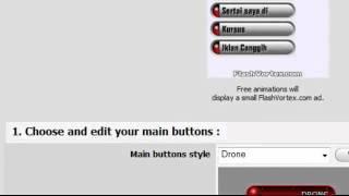 Cara membuat flash dropdown menu - Part 31