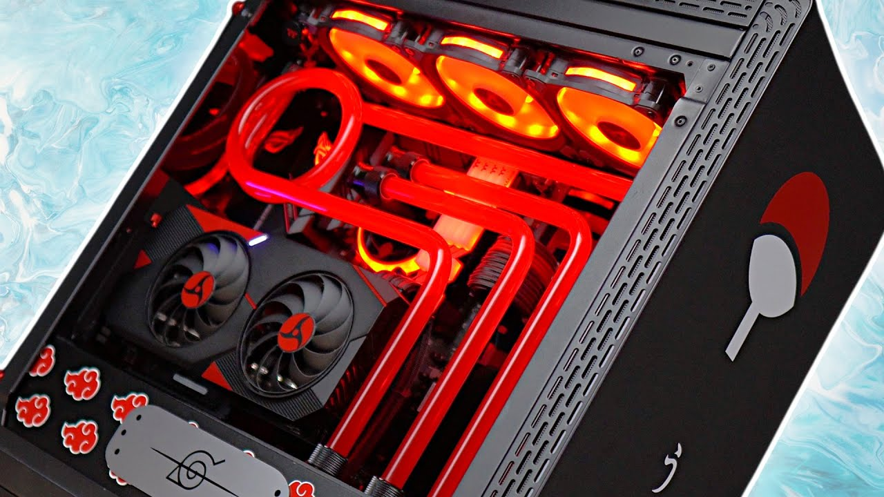 INSANE Custom water cooled Gaming PC
