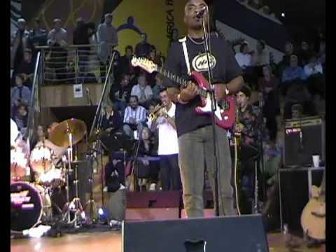 Sam Tshabalala live à Hanovre