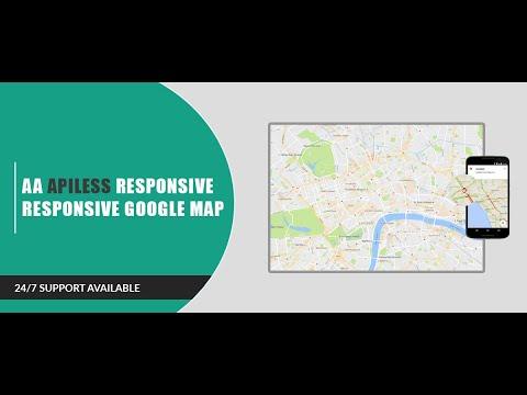 Joomla Module : AA Apiless Responsive Google Map