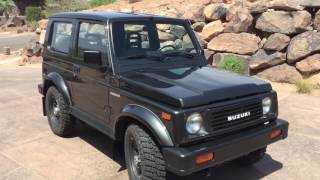 TOTALLY RESTORED 1989 SUZUKI SAMURAI