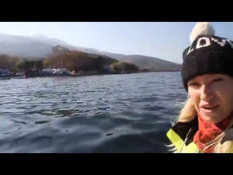 A look at Ground Zero from the water - Lesbos Greece