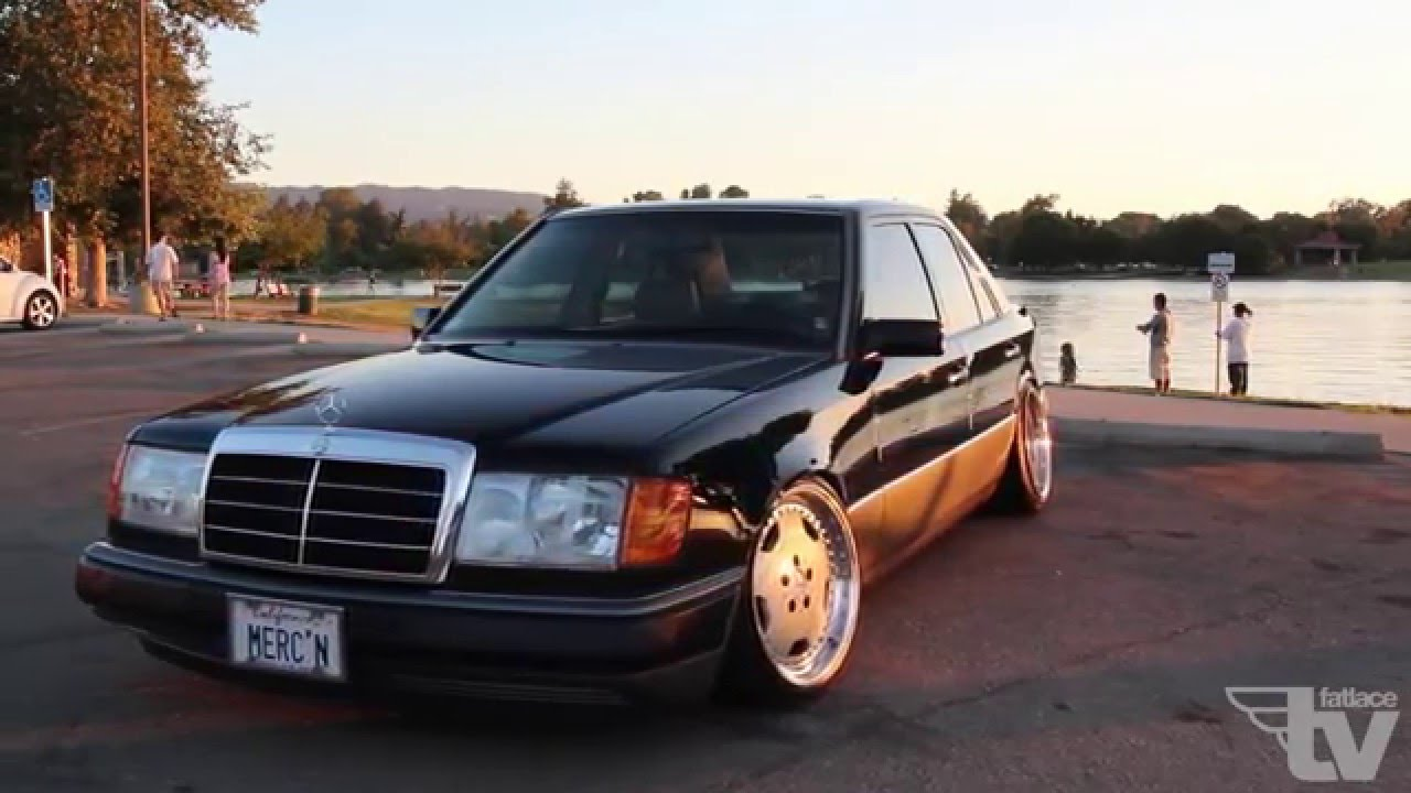 Mercedes 300e w124 stance youtube for Mercedes benz 1986 e300