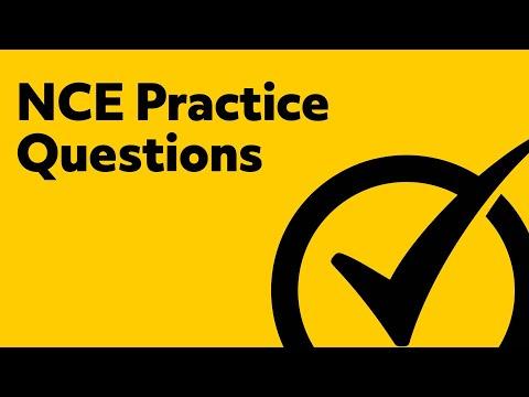 Free NCE Practice Exam
