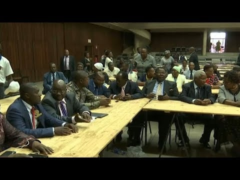 Zimbabwe's Mugabe faces impeachment at hands of his Zanu-PF party