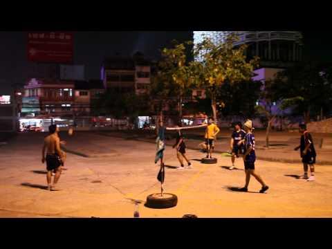 Sepak Takraw in Bangkok Thailand