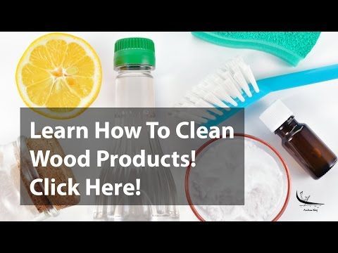 How to clean wood: coconut shell products naturally? Learn more!