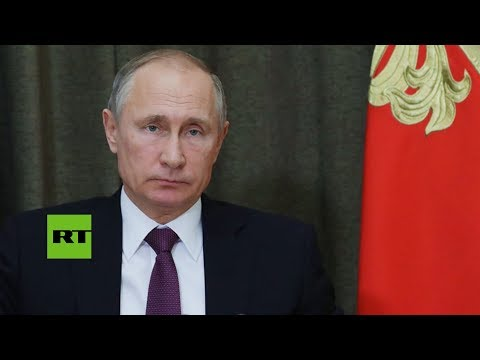 "Putin: ""Las tropas rusas regresan de Siria con la victoria"""