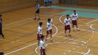2016年福岡県ハンドボール大会決勝戦 九州産業vs博多