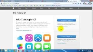 Hướng dẫn reset pass - câu hỏi bảo mật- đổi thông tin Apple ID - itune account - icloud
