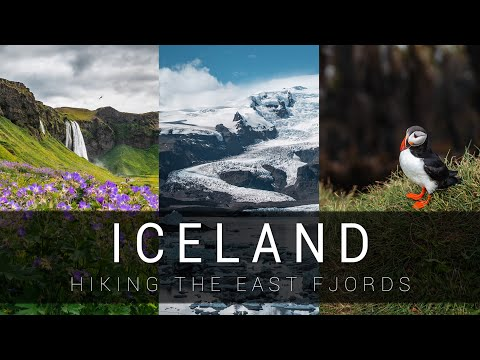Iceland - TOP hiking places in East fjords 🇮🇸 | Sony A7 III cinematic