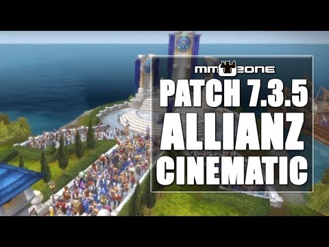 WoW Legion Patch 7.3.5 Allianz Cinematic [EN]