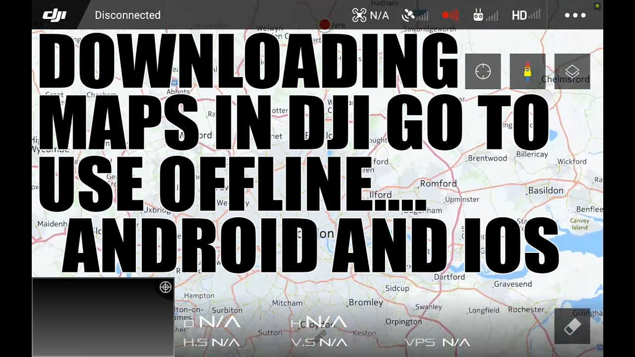 Caching maps for off-line use | DJI Mavic Drone Forum