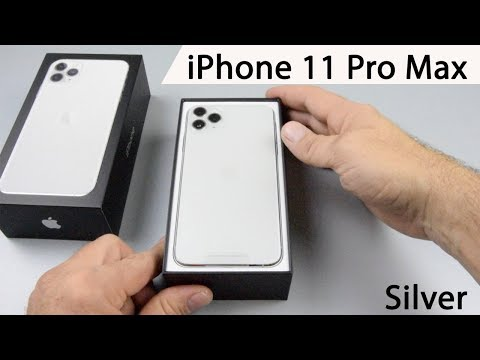 IPhone  11 Pro Max Silber 256 GB ( Silver ) Unboxing