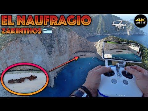 """El Naufragio En Zante """"Phantom4 Pro"""" 4K/DronePilot"""