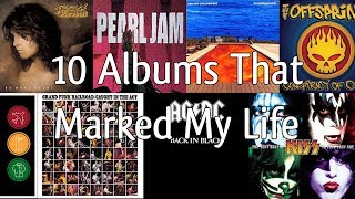 10 ALBUMS THAT MARKED MY LIFE | No Encore