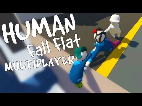 CRAZIEST Multiplayer MADNESS! - Human Fall Flat Multiplayer Gameplay