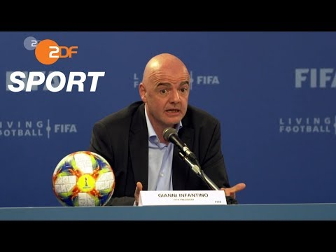 Infantino plant Klub-WM und Nations-League | SPORTreportage - ZDF