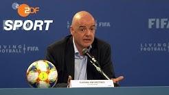 Infantino plant Klub-WM und Nations-League | SPORTreportage - ZDF