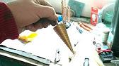 Метод отбора проб для определения стронция sr-90 и цезия cs-137. Закристаллизованный мед отбирают коническим щупом, погружая его в мед под.