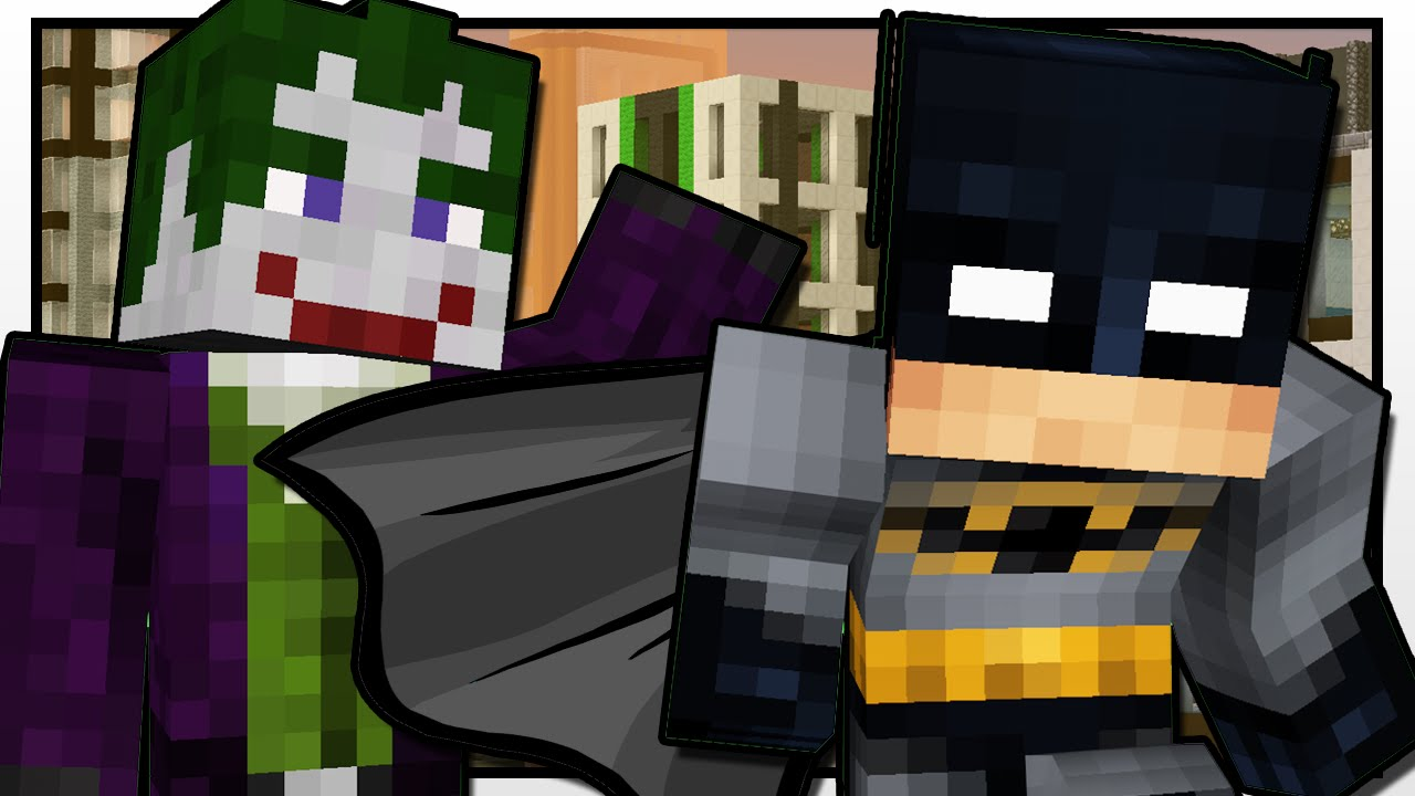 Minecraft | BATMAN: The Joker Returns!! | Custom Command Adventure