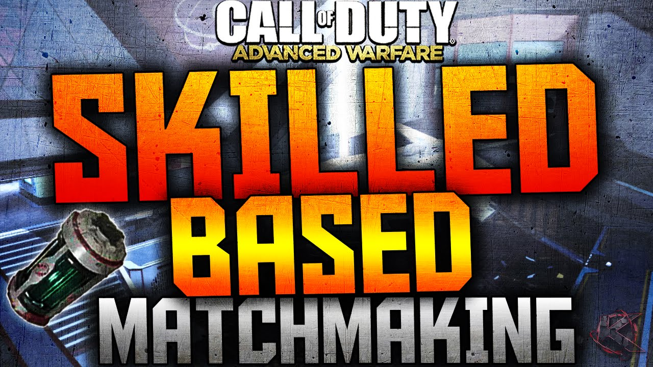 Cod aw skill based matchmaking removed