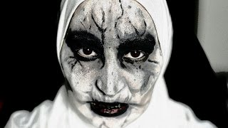 Valak (Conjuring 2) / Scary Nun Inspired halloween makeup