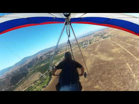 Hang Gliding - My First Thermal
