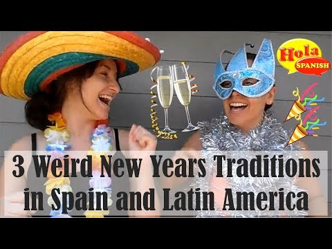 3 Weird NYE Traditions in Spain and Latin America | HOLA SPANISH
