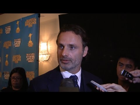 THE WALKING DEAD: Andrew Lincoln Teases Season 6 at the Saturn Awards